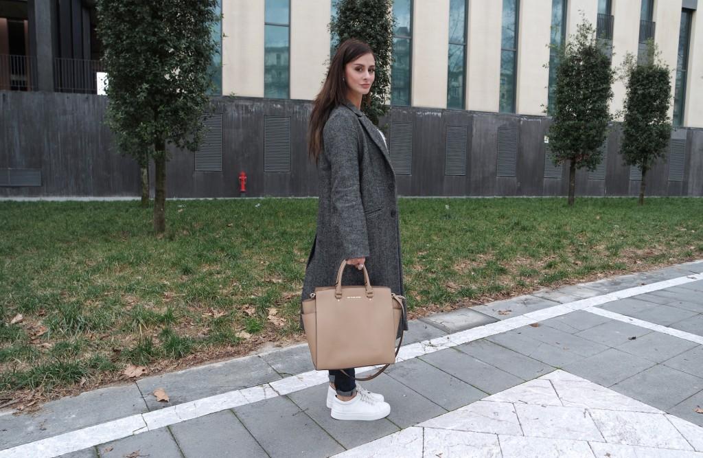 winter outfits  michael kors bag _ selma _purse
