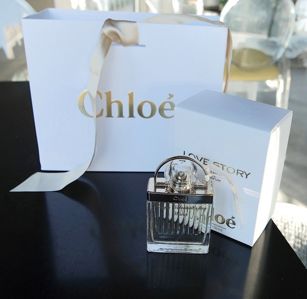 Love and valentines day Chloé perfume