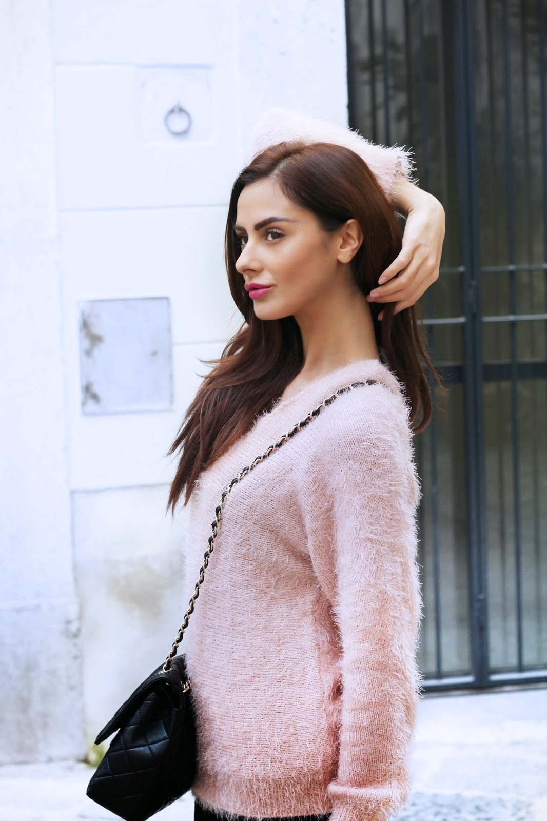 Fluffy sweater dal candy touch!