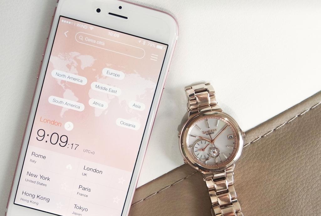 casio bluetooth smart watch