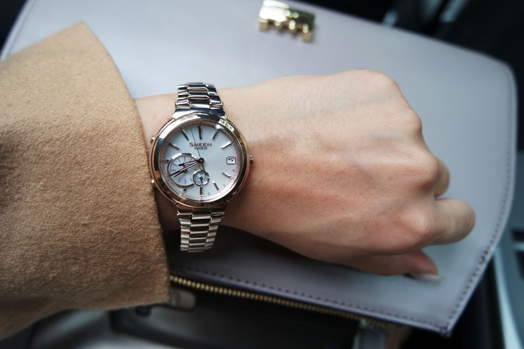 casio sheen bluetooth smart watch